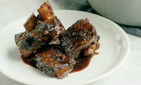 Ginger-Orange Braised Short Ribs Recipe